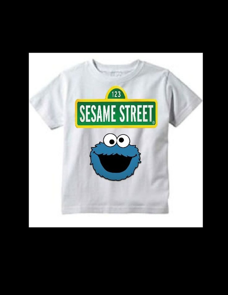 Sesame Street Cookie Monster birthday party t-shirt 2t 3t 4t-5t- boys or girls #Unbranded #Everyday