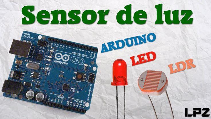 Arduino + LDR + LED = Sensor de luz | Tutorial