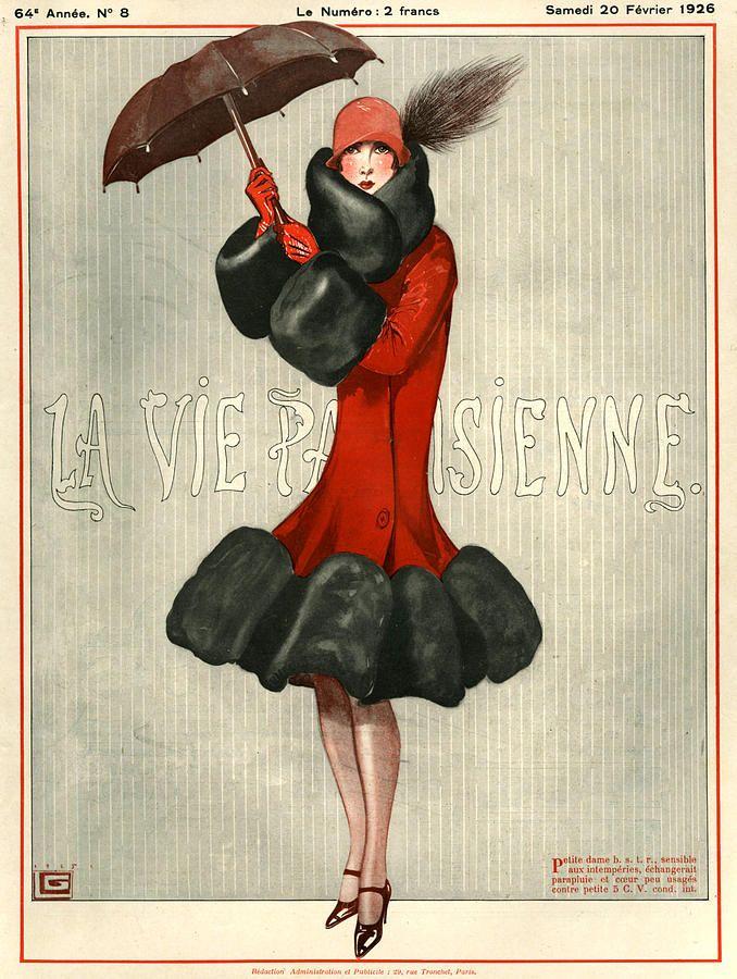 1926 France La Vie Parisienne Magazine
