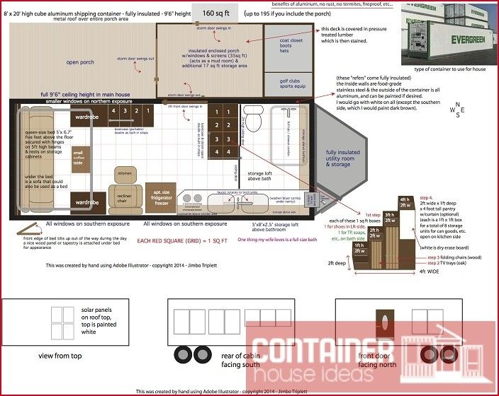 Shippingcontainerhouseideas Com Container House Plans Container House Maine House