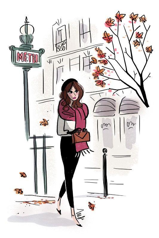 MF illustration metro.jpg - Magalie F   Virginie