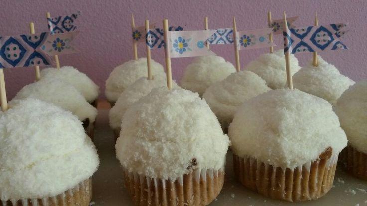 Backen: Kokos cupcakes