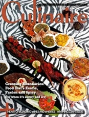 Culinaire #6 - Afro - Indian fusion cover from Safari Grill
