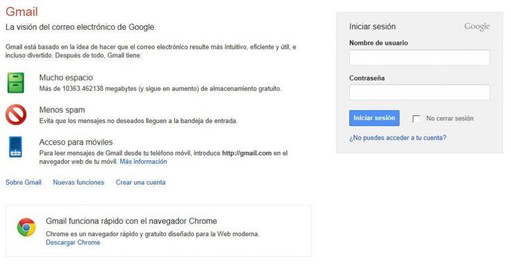 """Iniciar sesión en Gmail es una tarea sencilla. La plataforma de correo electrónico de la gran """"G"""" no podía ser de otra manera. Para Gmail inicio de"""