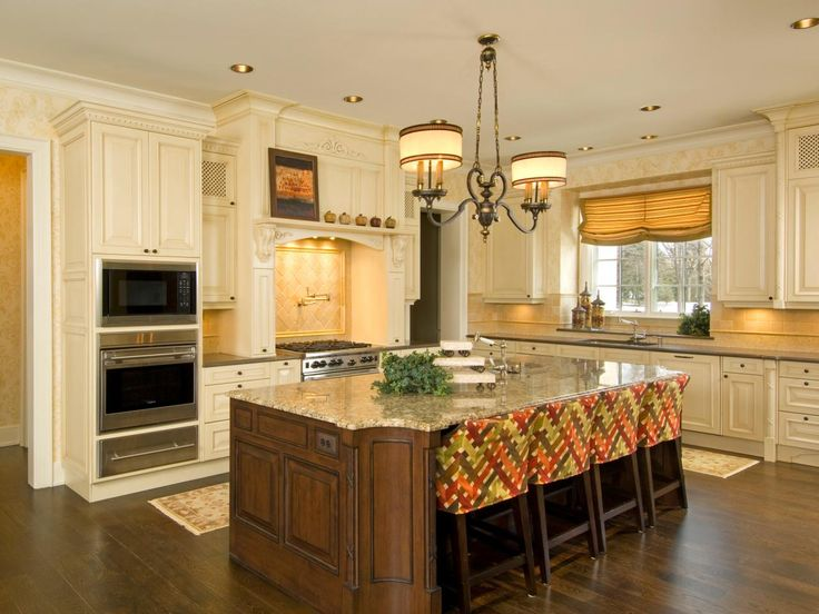 Custom Kitchen Islands Pictures Ideas Tips From Hgtv: Best 25+ Large Kitchen Design Ideas On Pinterest