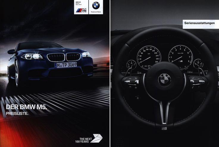 https://flic.kr/p/Smf157 | BMW M5. Preisliste. (Daten Facts) 2016