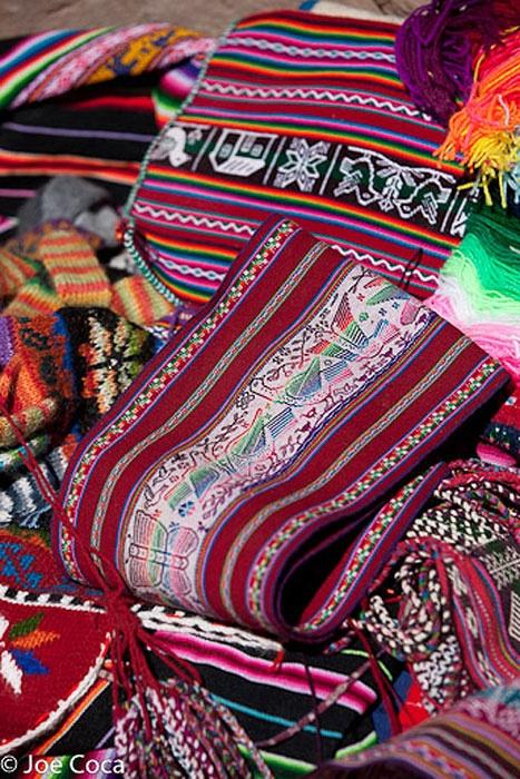 Belts from Isla Taquile, Peru