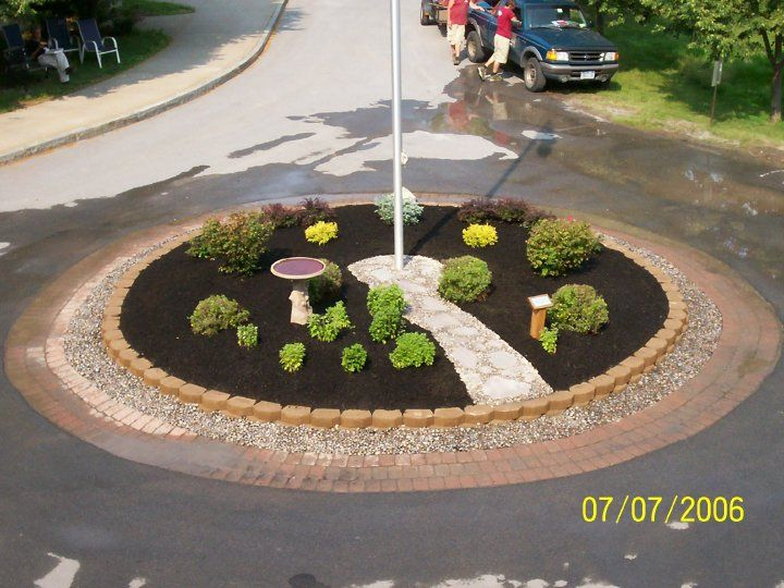ideas about flag pole landscaping on   flag poles, flagpole landscaping ideas
