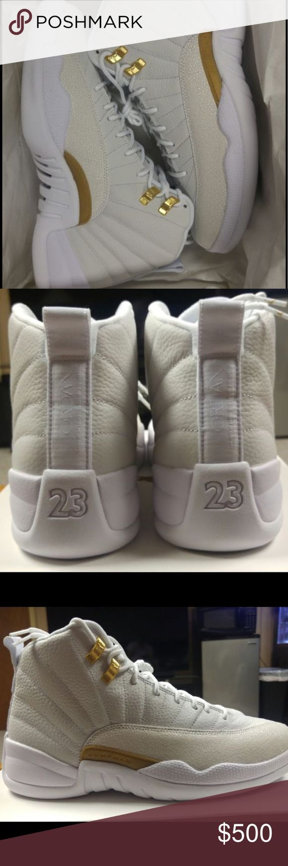 Jordan OvO 12s 100%Authentic, All Original Pictures, COMES WITH RECEIPT can contact me at (248) 694-7379 , TEXT OR CALL ME  REGARDING THE PRICE AND PAYMENT Follow me on instagram (@LakeSidekicksMI ) Jordan Shoes Sneakers