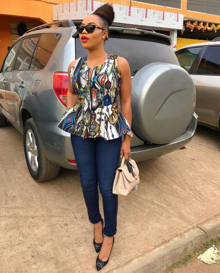 Hottest Ankara Top Styles for 2018 - Wedding Digest Naija