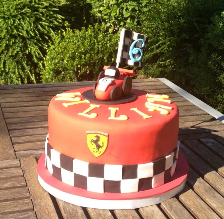 Cake Decorating Quorn : 36 best Auto piste ferrari images on Pinterest