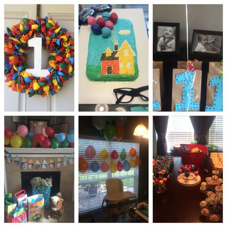 UP themed first birthday!! Fun fun