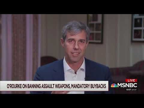 Beto O'Rourke admits to door-to-door confiscat…