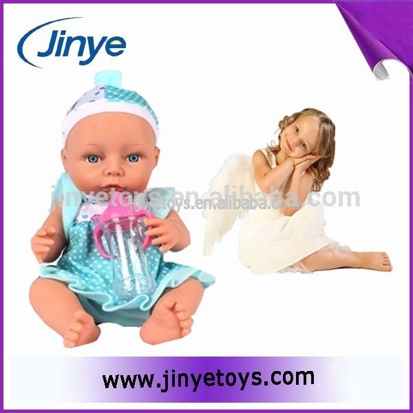 Deluxe silicone reborn baby dolls for little girl #Deluxe, #Girls