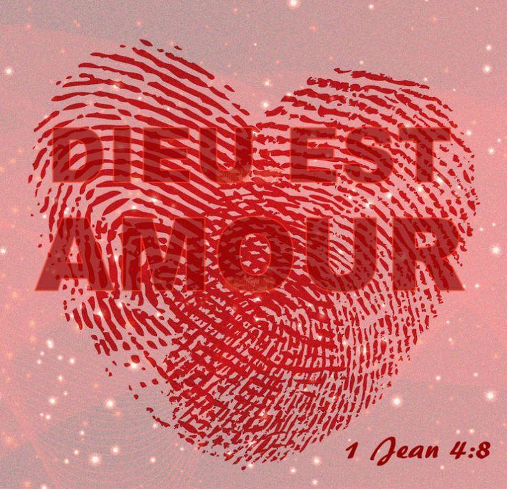 1 Jean 4:8  -  L'AMOUR ..... C'EST L'ADN DE DIEU