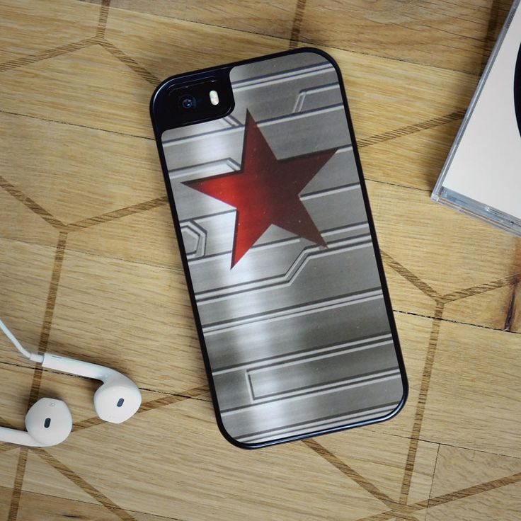 Bucky Barnes Star Symbol - Captain America iPhone 6 Case, iPhone 5S Case, iPhone 5C Case plus Samsung Galaxy S4 S5 S6 Edge Cases - Shadeyou - Personalized iPhone and Samsung Cases