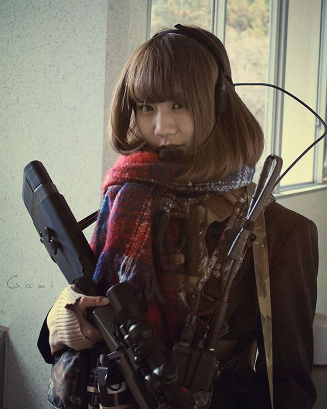"WEBSTA @ blueswallowtail - Paper puncher?  No, We are  High school "" Tango Down "" club #japon #japan #tokyo #pewpew #sniperrifle #pewpewlife  #308win #remington  #sharpshooter #remington700 #M40 #762nato  #308 #m700 #m40a5 #surefire  #sniper #gungirl #jk #U18 #highschool  #highschoolfriends #highschoolgirls  #schoollife #tactical #tacticallife #tacticalgear"