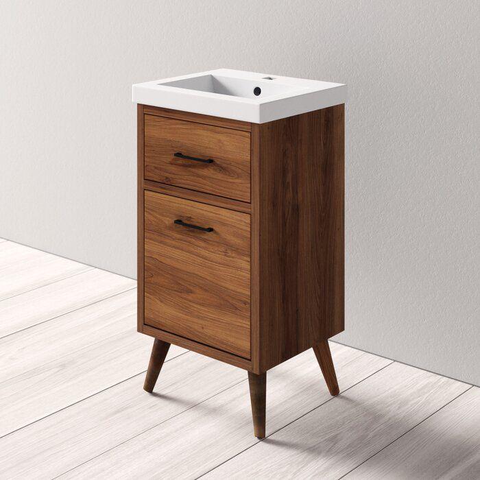 Joel 18 Single Bathroom Vanity Reviews Allmodern Bathroom Vanity Small Bathroom Vanities Single Bathroom Vanity