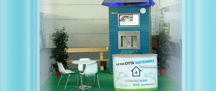 Stand presso la fiera Ecomondo di Rimini 2013. #sostenibilità #ambiente #fiera #rimini #ecomondo2013
