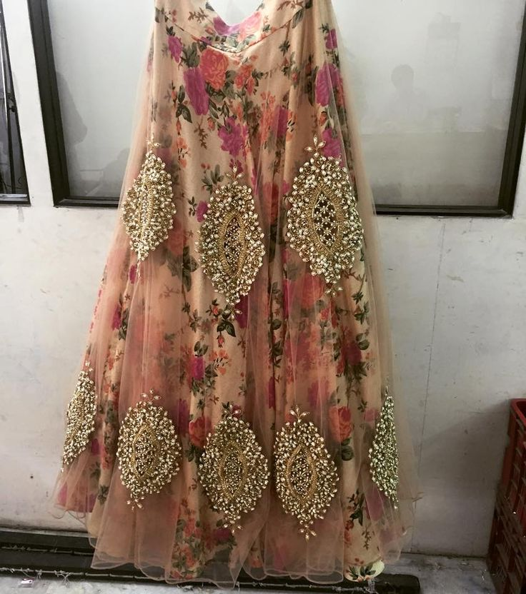 Bhumika Sharma Lehenga..|| this but without the sequin patterns on the net
