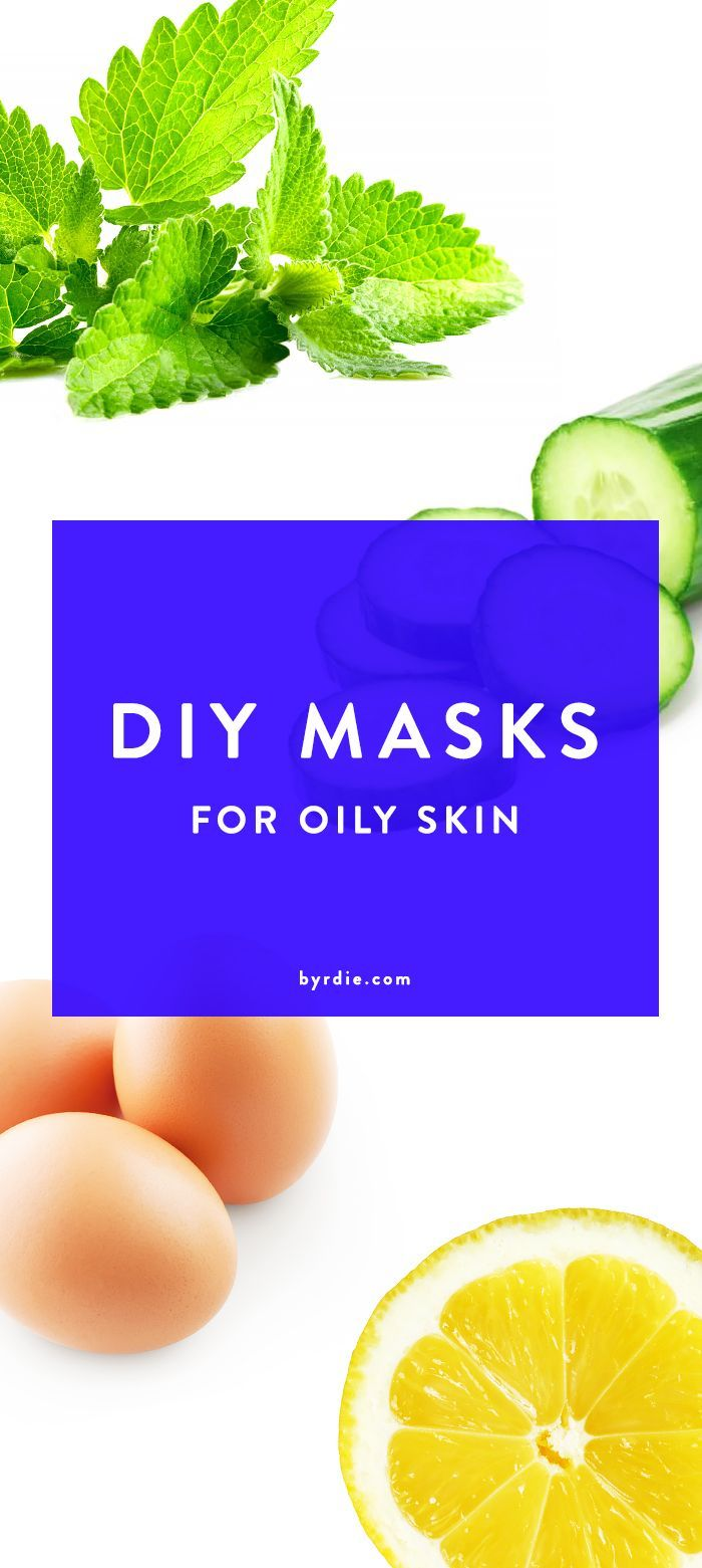 3 DIY masks to tame your oily T-zone // via @byrdiebeauty