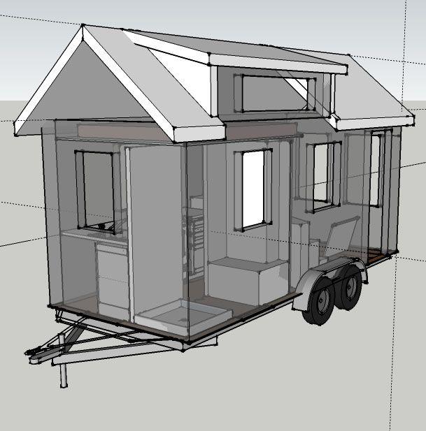Boulder 16 & # 39; Kleine Hauspläne – Rocky Mountain Tiny Houses   – one and move