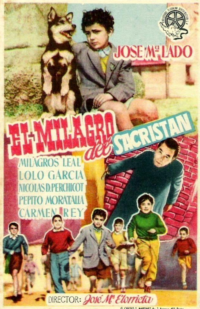 El milagro del sacristán (1954) de José María Elorrieta - tt0046070