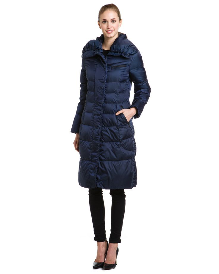 Cole Haan Navy Down Puffer Coat Women #Outerwear | Women's Fashion ...