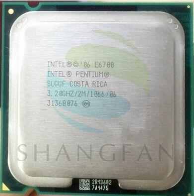 Intel CPU Pentium E6700 SLGUF CPU/ 3.2GHz/ LGA775 /775pin/2MB L2 Cache/ Dual-CORE/65W