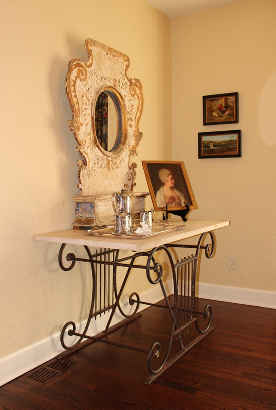 We Love This Photo Of Kristen Priceu0027s Beautiful French Butcher Table  (Kendallu0027s Mother).