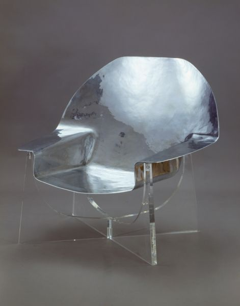1971, Philippe Hiquily - armchair #livingroomchairs  #diningroomchairs #chairdesign upholstered dining chairs, silver chair, upholstered chairs | See more at http://modernchairs.eu