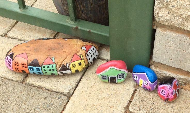 Stone houses...fairy size