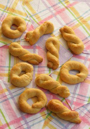 Greek Easter Cookies - Koulourakia | Greek Food - Greek Cooking - Greek Recipes by Diane Kochilas