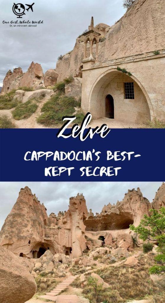 Zelve Open Air Museum Cappadocia's Secret European