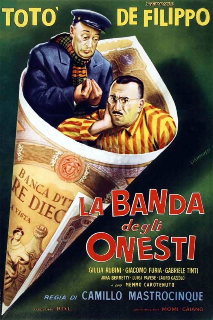 La banda degli onesti 1956 di Camillo Mastrocinque con Totò, Peppino de Filippo e Giacomo Furia.