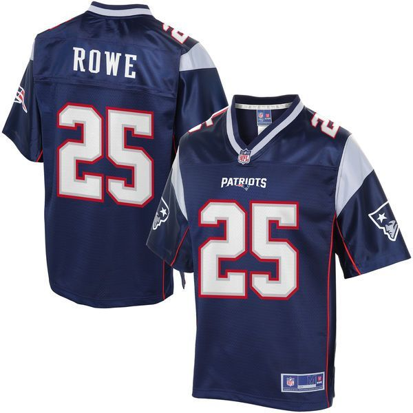 Eric Rowe New England Patriots NFL Pro Line Women's Player Jersey - Navy - $99.99