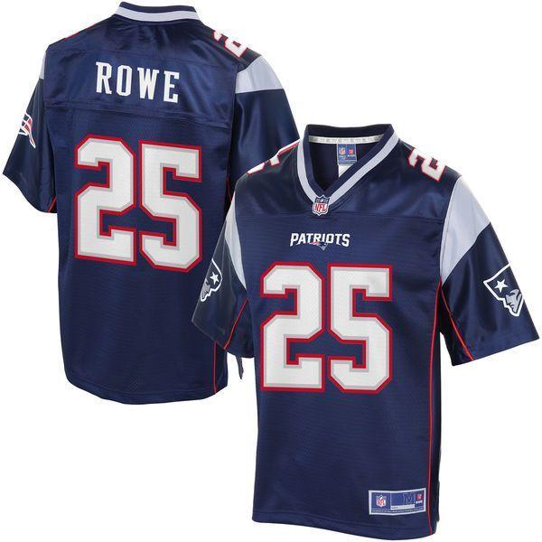 Eric Rowe New England Patriots NFL Pro Line Women's Player Jersey - Navy - $99.99