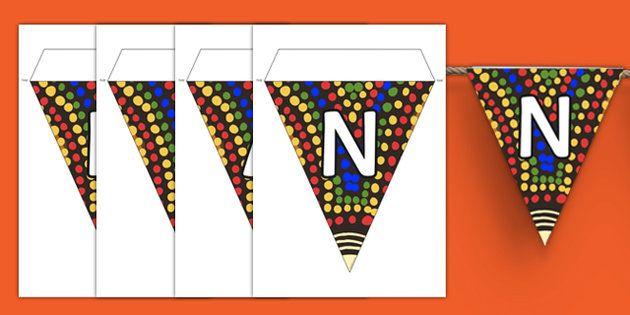 NAIDOC Week Display Bunting
