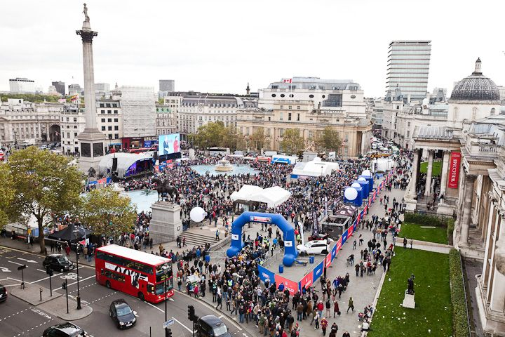 Looking forward to building the fan rally in Trafalgar Square again this year! #NFL #London #Wembley