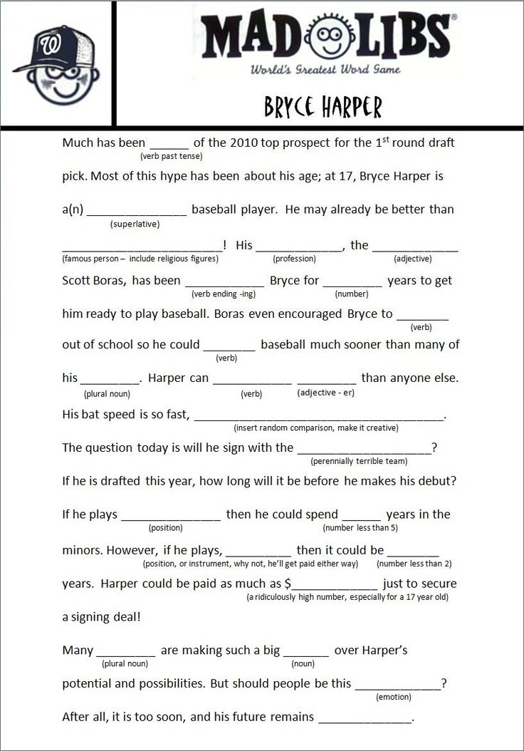 The 25 Best Mad Libs For Adults Ideas On Pinterest  Mad -8863
