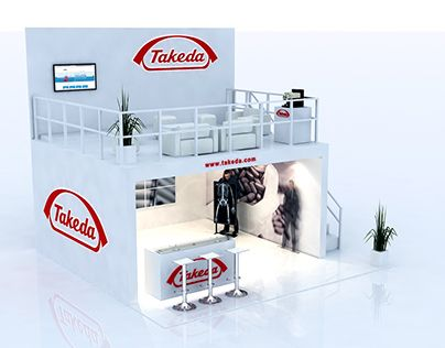 """Check out new work on my @Behance portfolio: """"Stand - Takeda"""" http://be.net/gallery/48581571/Stand-Takeda"""