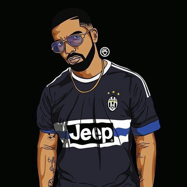 Rapper Black Bart Simpson Cartoons