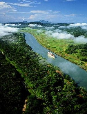 PANAMA CANAL...One of the top man-made wonders of the world is best seen by cruise ship. Often included on the itinerary are Costa Rica, Mexico, and Jamaica. RM