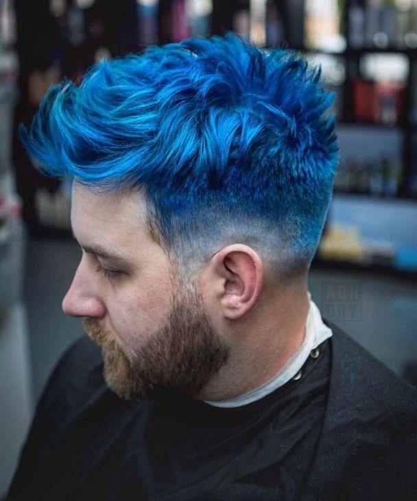 As 55 Melhores Imagens Em Blue Hair No Pinterest Cabelo