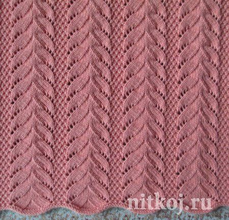 Beautiful pattern with needles from Svetlana Safonova