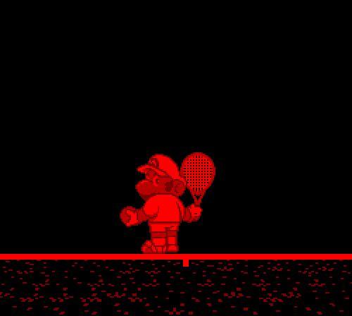 bigbadbro:  Mario's Tennis (nintendo virtual boy)