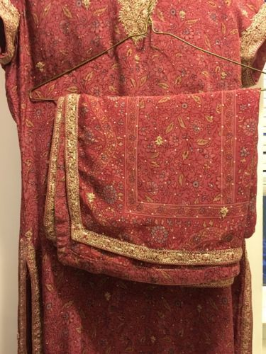 Ritu Kumar three PC. Stunning Salwar Suit In Dust rose Size Medium – A2Z Smartstore.com