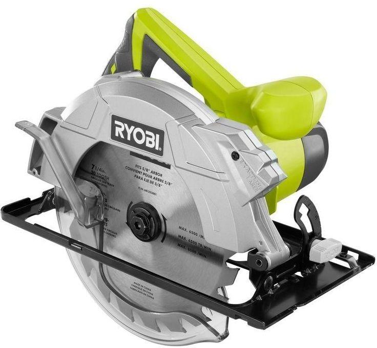 Ryobi 14Amp 71/4 in. Corded Electric Circular Saw Power