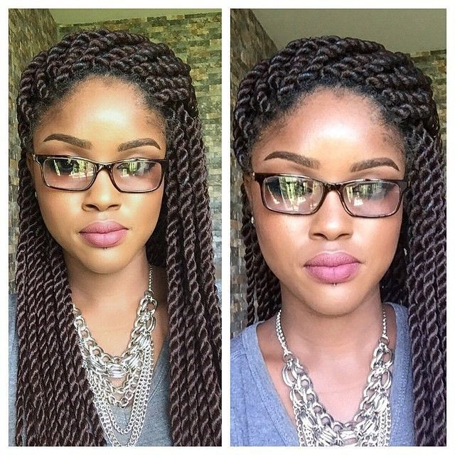 Check this out. They are easy to do and the connection is gentle on the hair. Senegalese twists _ MUST LEARN!