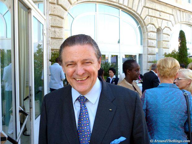 Richard Carrion (ATR). -  Women in Sport Awards 2013